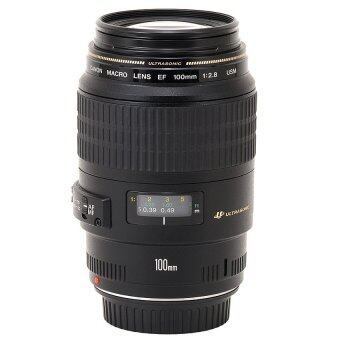 Canon EF 100mm f/2.8 Macro USM Lens for Canon