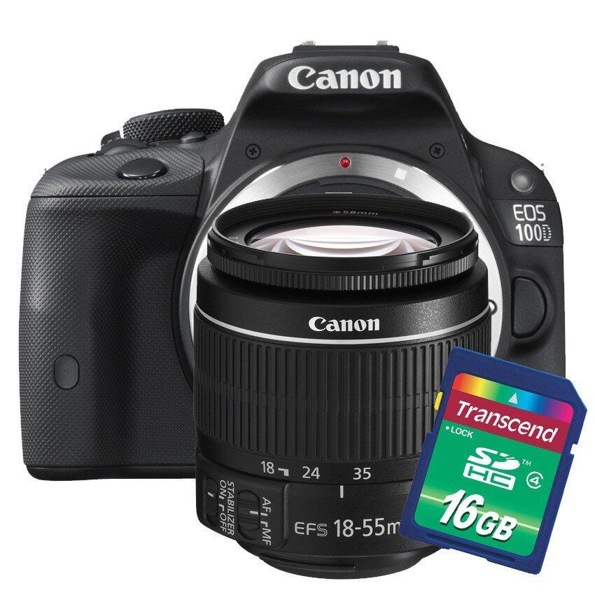 Canon EOS 100D 18-55mm Lens kit