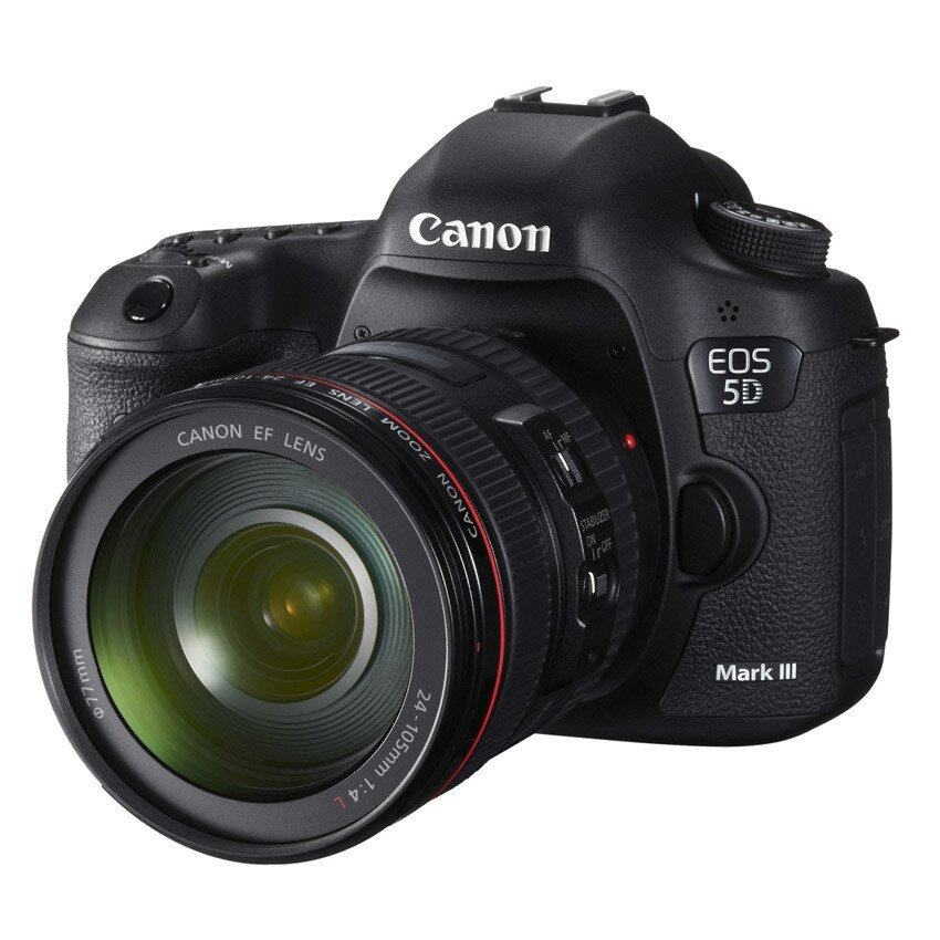 Canon EOS 5D Mark III + Lens 24-105 mm  IS USM - Black