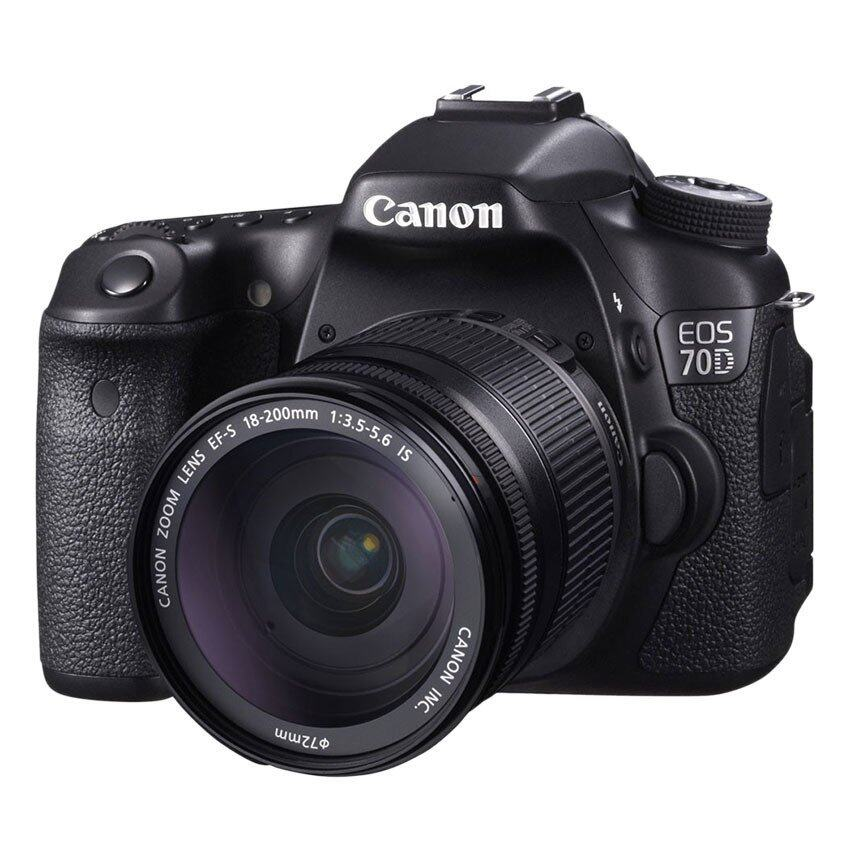 Canon EOS 70D Kit (18-200 IS) - Black ...
