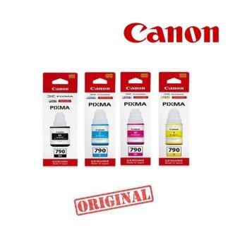 Canon GI-790 หมึกขวดแท้ 4 สี BK/C/M/Y FOR G1000, G2000, G3000