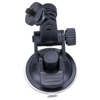 Car Holder for Sport Camera SJcam SJ4000 SJ5000 M10 SJ5000X X1000SJ1000 Gopro (Black) - Intl