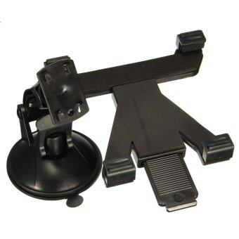 Car Holder Suction Cup Mount For 7-10.1 inch Apple Tablet Samsung Tab Tablets (Black)