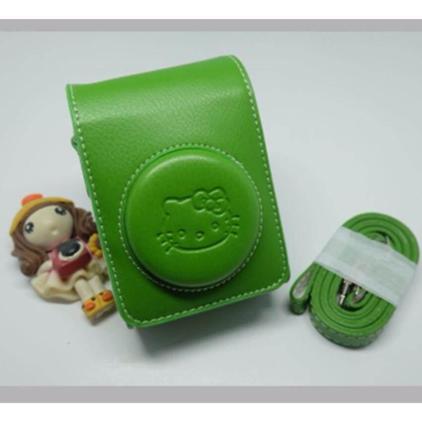 Casio bag for ZR รุ่น kitty แนวตั้ง สีเขียว ...
