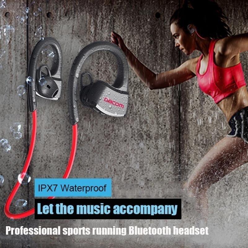 China Brand Headphone Dacom P10 IPX7 Waterproof Bluetooth Earphones for Runner Sports/Swimming Wireless Stereo Earbuds Headset for Music/Handfree Call - intl