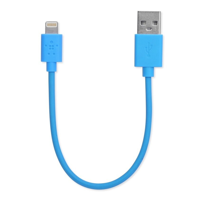 Connect Cable Lightning Sync & Charge 15CM. Blue