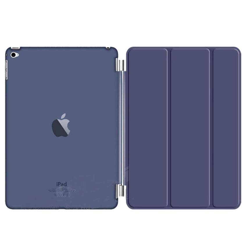 Cool case เคสไอแพดมินิ iPad mini 1/2/3 Magnet Transparent Dark Blue Case ...