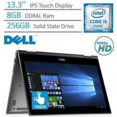 Dell Inspiron 13.3 2-in-1 Convertible FHD IPS (1920 x 1080) Touchscreen Laptop PC, Intel Core i5-7200U 2.5 GHz, 8GB DDR4 RAM, 256GB SSD, Backlit Keyboard, Bluetooth, HDMI, Windows 10 - intl