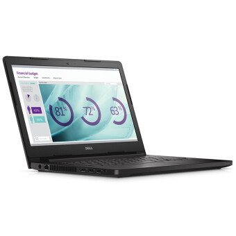 "Dell Notebook Latitude3470 14"" i3-6100U 4G 1TB Ubu (Black)"