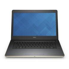 Dell แล็ปท็อป รุ่น V5459-W561063TH/Intel® Core™ i3-6100U/4GB/500GB/Intel® HD Graphics 520 (Golden)