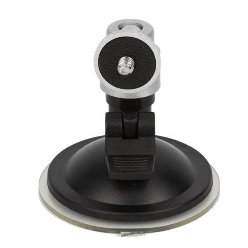 dmscs Mini Camera GPS Suction Mount TriPod Holder Fix On Car Wind Screen (Silver)