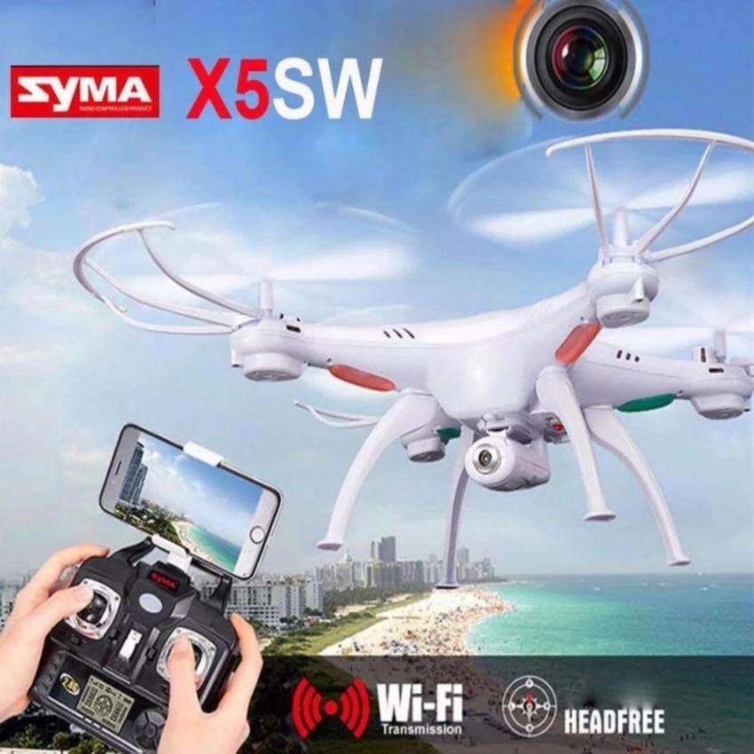 Drone Syma FPV Wifi Quadcopter รุ่น X5SW โดรนติดกล้อง บันทึกภาพวีดีโอ ส่งภาพเข้ามือถือ บินนิ่งที่สุด