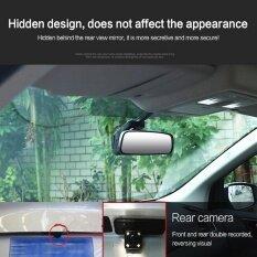 Dual Lens Wifi Hd 1080p Car Dvr Video Camera Recorder Night Vision Dash Cam - Intl ราคา 1,629 บาท(-58%)