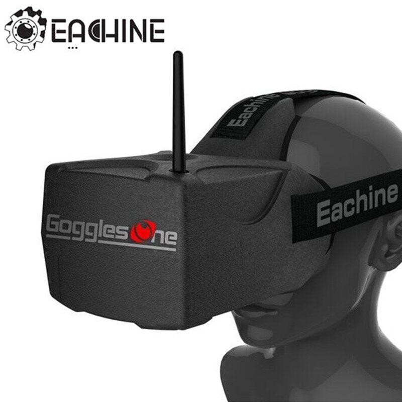 ขาย Eachine แว่นสำหรับ Racing Drone รุ่น Goggles One 5.8G 5 Inches 40CH Raceband HD 1080p HD