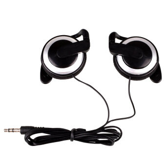 Ear-hook Headphone 3Colors Earphone Headset For Cellphone MP3 MP4Computers - intl