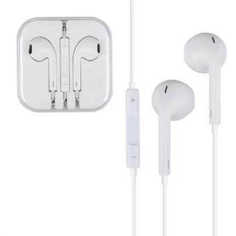 หูฟัง Earphone Headphone 3.5mm Headset For Apple iPhone iPodiPad(White)