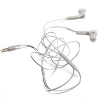 Easbuy 3.5mm Line Earphone Headphones with Micphone for Nokia (Black)