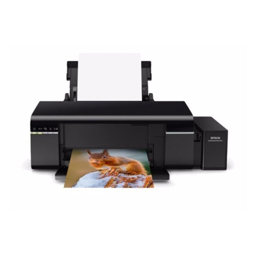 ปริ้นเตอร์ เอปสัน Epson L805 ระบบ InkTank พร้อมน้ำหมึก 6 สี