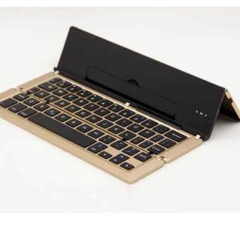 F18 keyboard Bluetooth คีย์บอร์ด บลูทูธ ไร้สาย แถมฟรี สติคเกอร์คีย์บอร์ดพีวีซี ไทย อังกฤษ