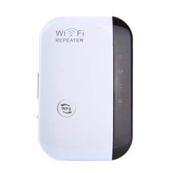 fehiba 300Mbps Wifi Repeater Wireless-N AP Wifi Range Signal Extender Booster (US Plug)