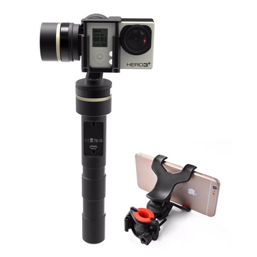 Feiyu G4-QD 3-Axis Handheld Gimbal + Smart Phone Holder for GoPro Hero 5 TV066 - intl