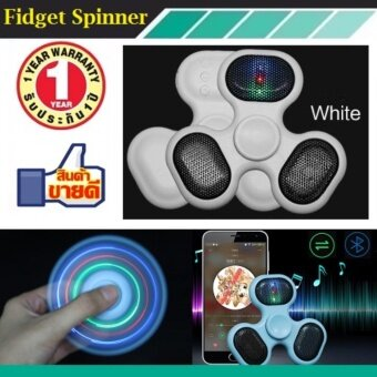 ประเทศไทย Fidget Spinner Rechargeable Bluetooth gyro flashing sound decompression artifact novelty fingertip gyro sound