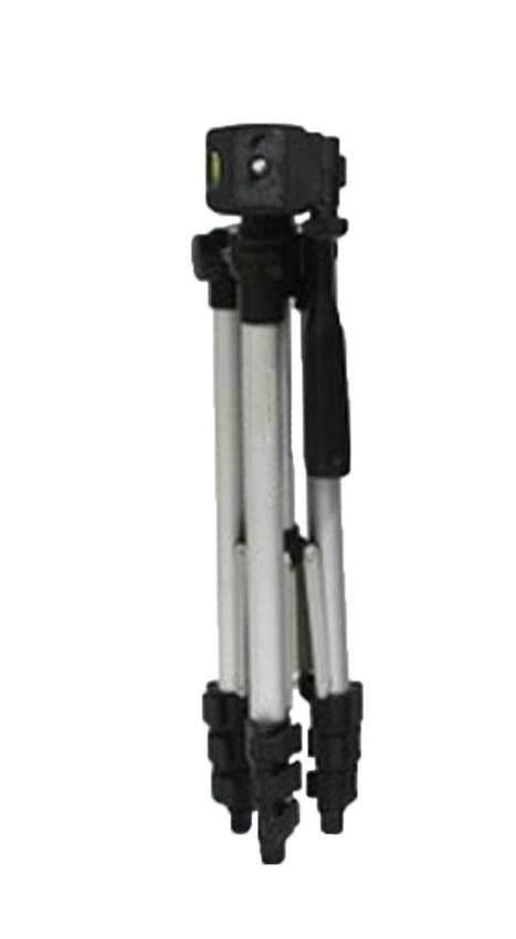 foorvof Aluminum Adjustable Digital Camera Camcorder TriPod With Portable TriPod Bag (Silver)