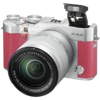 FUJI กล้องMIRRORLESS X-A3 หน้าจอ 3 นิ้ว สีชมพู รุ่น X-A3 + 16-50mm Pink