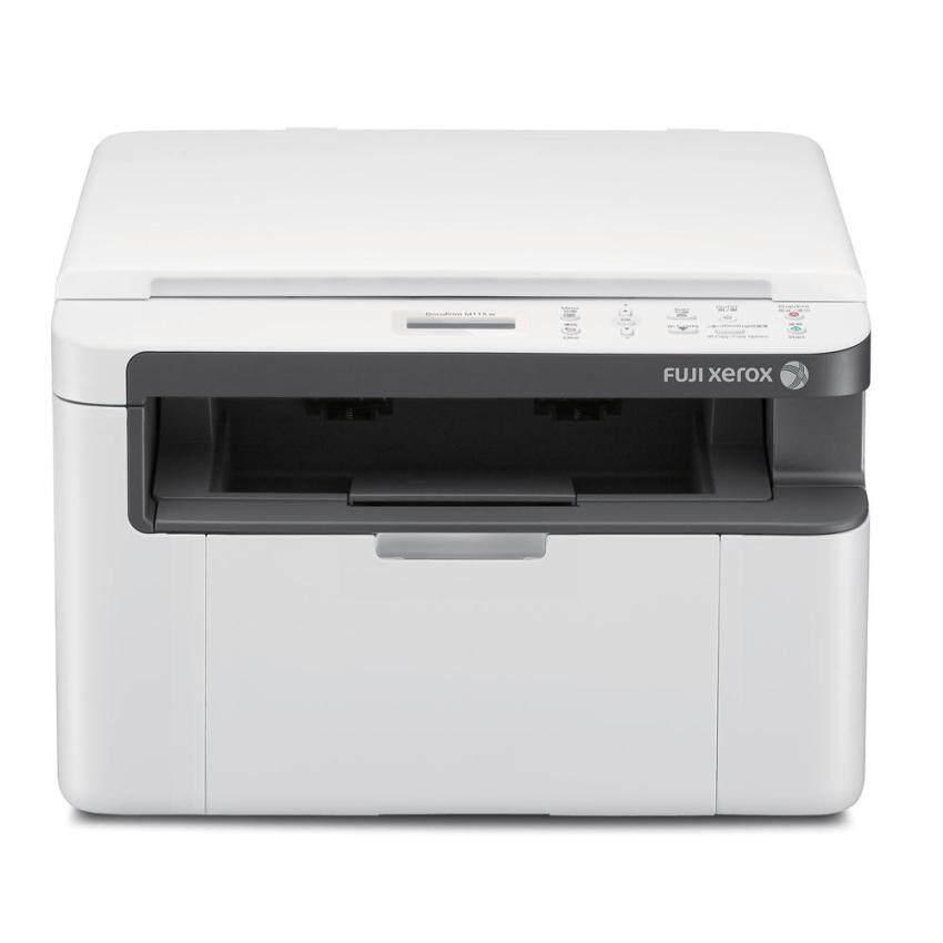 Fuji Xerox Printer รุ่น DocuPrint M115w black and white multifunction printer ขาว ดำ