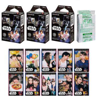 Fujifilm Instax Mini Star Wars WW Instant 30 Film for Fuji 7s 8 2550s 70 90/ Polaroid 300 Instant Camera/ Share SP-1
