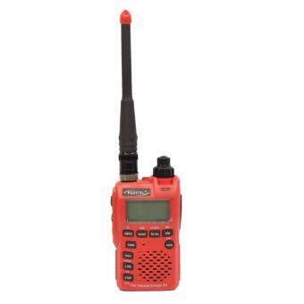 Fujitel วิทยุสื่อสาร อุปกรณ์ครบชุด รุ่น FB-5H 80 ช่อง ถูกกฏหมายไม่ต้องขอใบอนุญาต - สีแดง