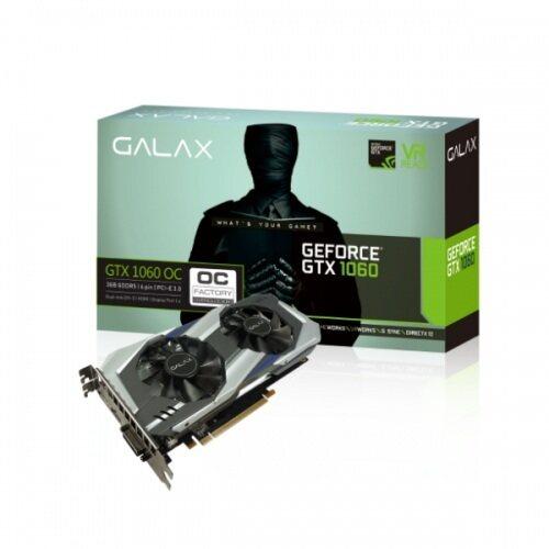 ห้ามพลาด GALAX GTX 1060 OC 3GB แนะนำเลย