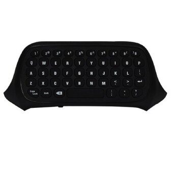 Generation 2 Wireless Keyboard for Xbox-one Controller 2.4G Mini Wireless Chatpad Message Keyboard (Black)