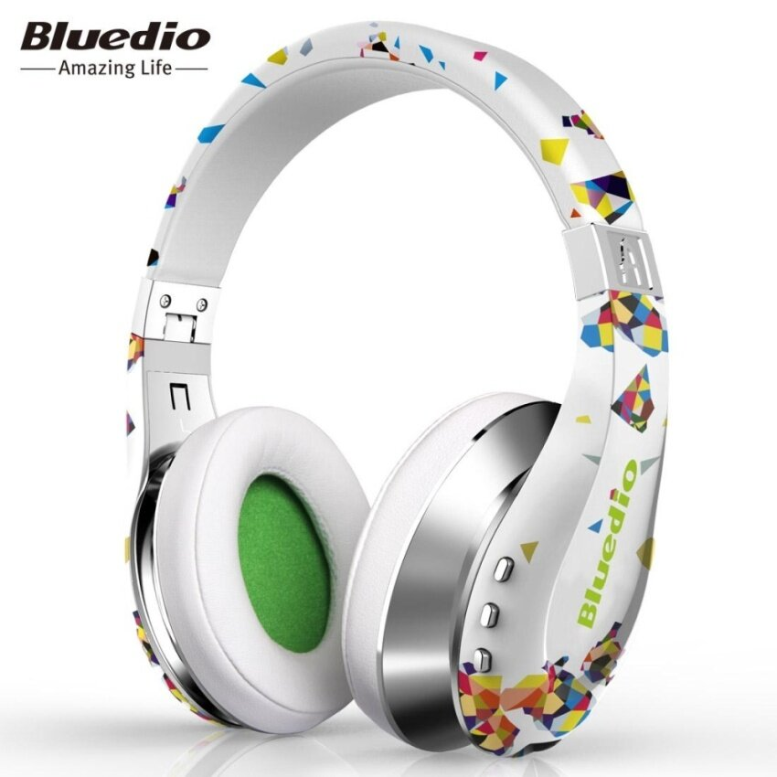 Genuine Bluedio A / Air Wireless Bluetooth V4.1 HiFi Headphone with Highly Flexible Headband - intl