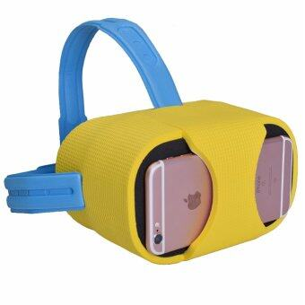 GETEK High-Tech 3D VR Virtual Reality Glasses For Android Iphone (Yellow)