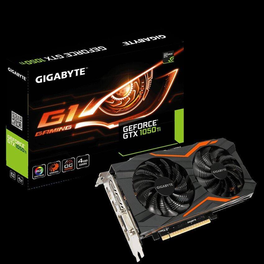 ห้ามพลาด GIGABYTE GTX1050Ti G1 Gaming 4G GDDR5 128Bit แนะนำเลย
