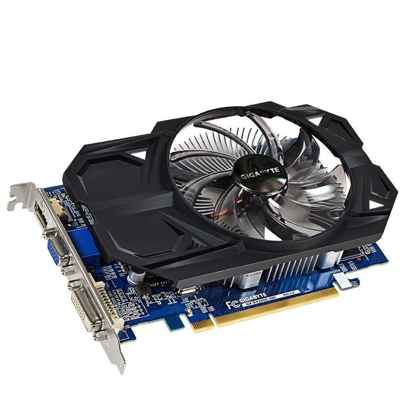 GigaByte Over Clock Graphic Card AMD Radeon R Series R7 250 2GB (III) ...