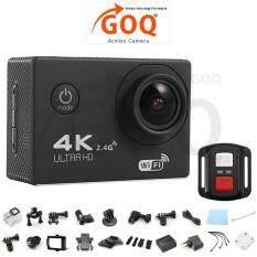 Goq F60r 4k 30fps 16m Action Sports Camera Cam Remote Shutter Control - Intl ราคา 2,234 บาท(-5%)