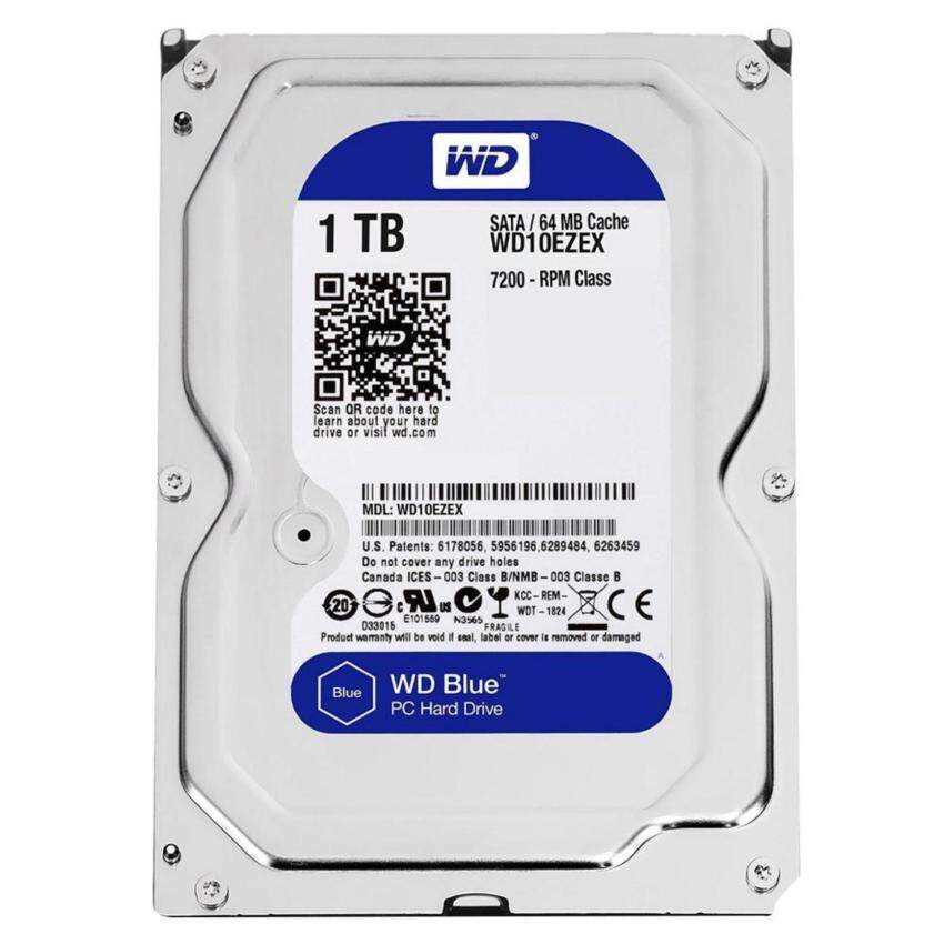 HDD WD 1000/7200 SATA III,64MB (Blue) 3Y