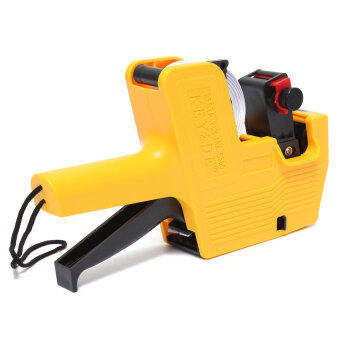 HDL Retail Store Price Pricing Label Labeller Gun MX-5500 + 2 Ink Roll + 400 Labels Yellow - Intl