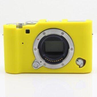 High Quality Silicone Camera Case Bag Cover for Fujifilm X-A3 XA3 (Yellow) - intl