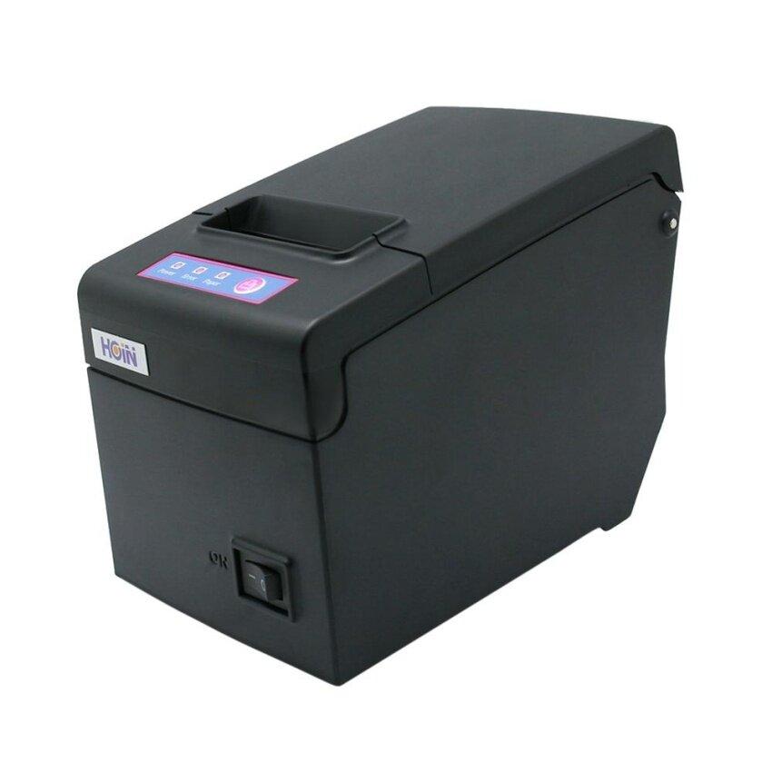 Hoin High-speed 58mm POS Dot Receipt Paper Barcode Thermal Printer COM+USB for Supermarket Store Bank Restaurant Bar - intl