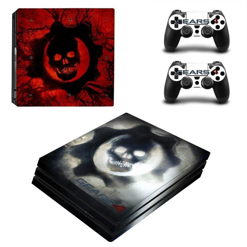 Horror Series Vinyl Game Protective Skin Sticker For Playstation 4 Pro Decal Cover Stick .