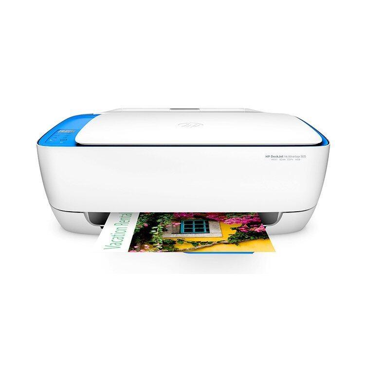 HP Deskjet IA 3635 All in One Printer (White)
