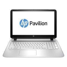"""HP Notebook Pavilion 15-p238TX L0L55PA#AKL i7-5500U 2.4/8GB/1TB/GeForce 840M/15.6""""/DOS 2.0 (White)"""