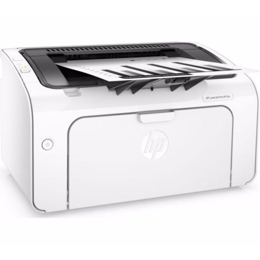 HP ปริ้นเตอร์ PRINTER HP LaserJet Pro M12w Wireless มีตลับหมึกพร้อมใช้งาน