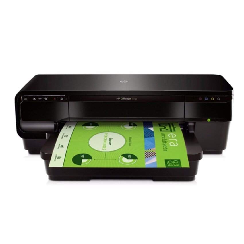 HP Printer OJ 7110 Format WiFi/ePrinter (Black)