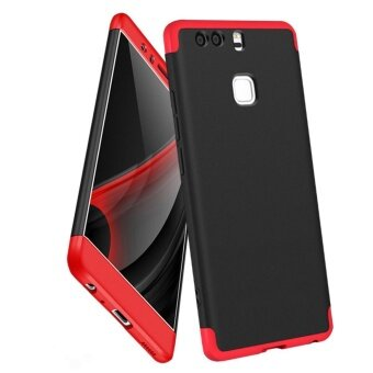 Huawei P9 case , Mooncase Frosted Armor Hard PC Back Cover 360 FullBody Shockproof Protective with 3 Detachable Parts Phone Case (AsShown) - intl