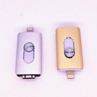 i-Flash Drive 64gb For iPhone 5/5s/5c/6/6 Plus/ipad USB Flash Disk interface 3 in 1 Flash Pen Drive 64GB