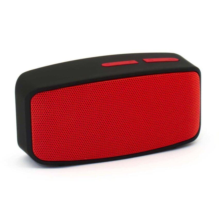 Innotech Mini Bluetooth Speaker ลำโพงบลูทูธ รุ่น N10U (Red)